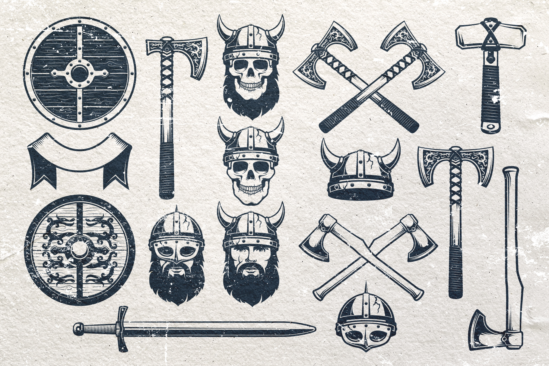 Viking Emblem Bundle example image 3