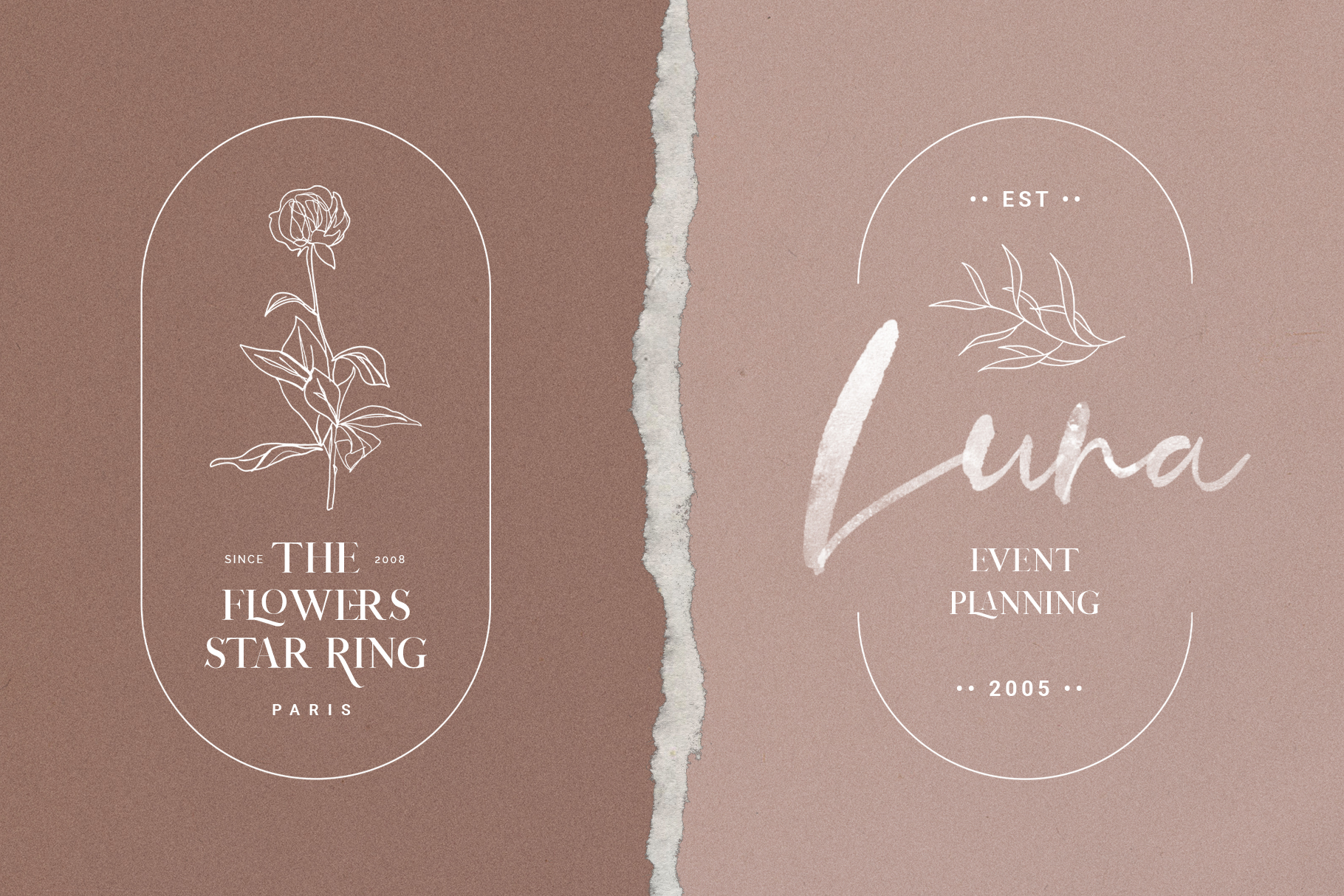 January Love Font Duo With 10 Logos & More Extras example image 17