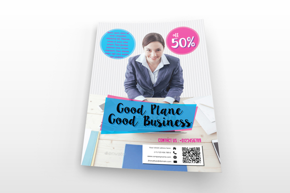 Simple Business Flyer example image 2