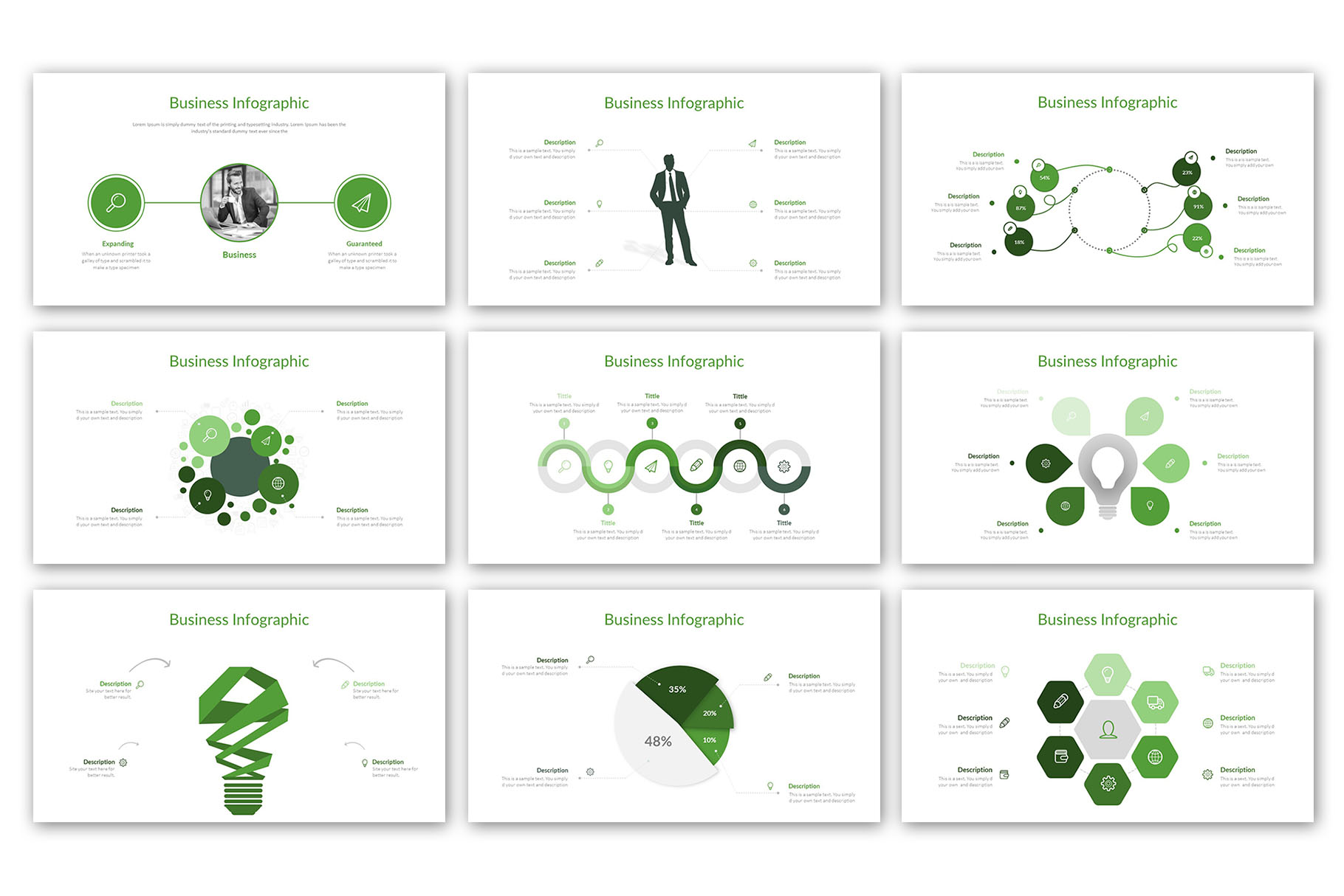 Modern Business Presentation Template example image 10