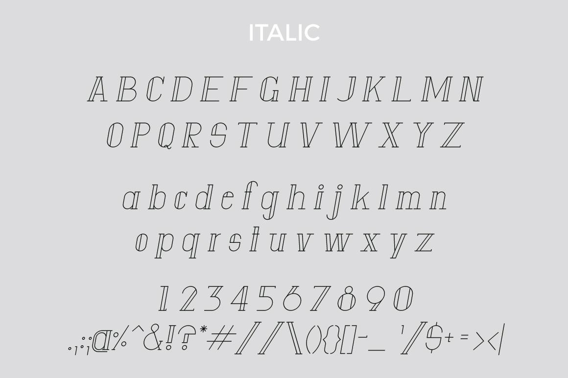 Anatta Display Serif Typeface example image 7