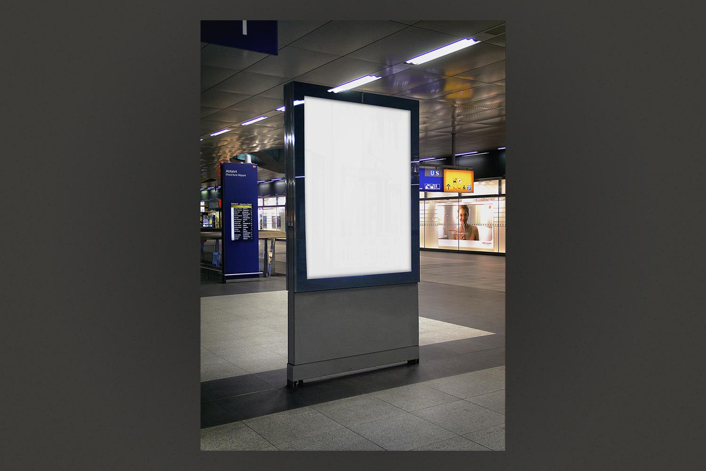 Mockup - Poster - Mall example image 2