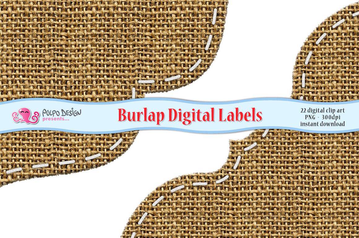 Burlap Digital Labels example image 2