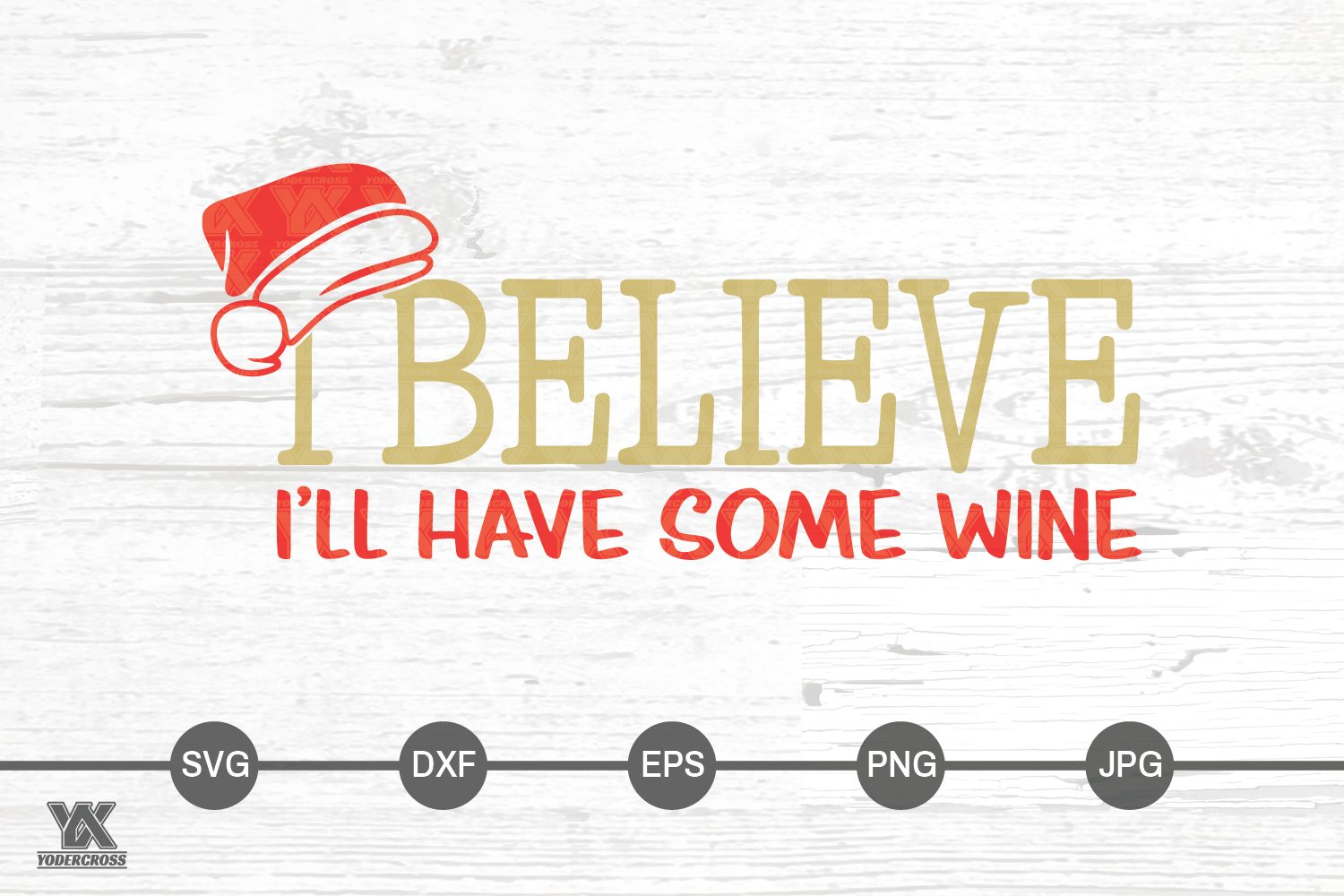 I Believe I'll Have Some Wine SVG example image 6