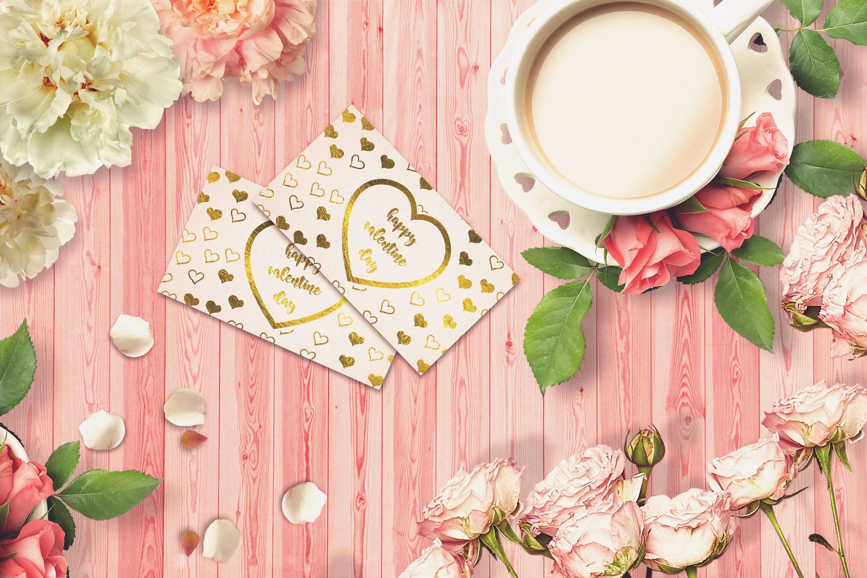 Valentine Card Mock-up #38 example image 1