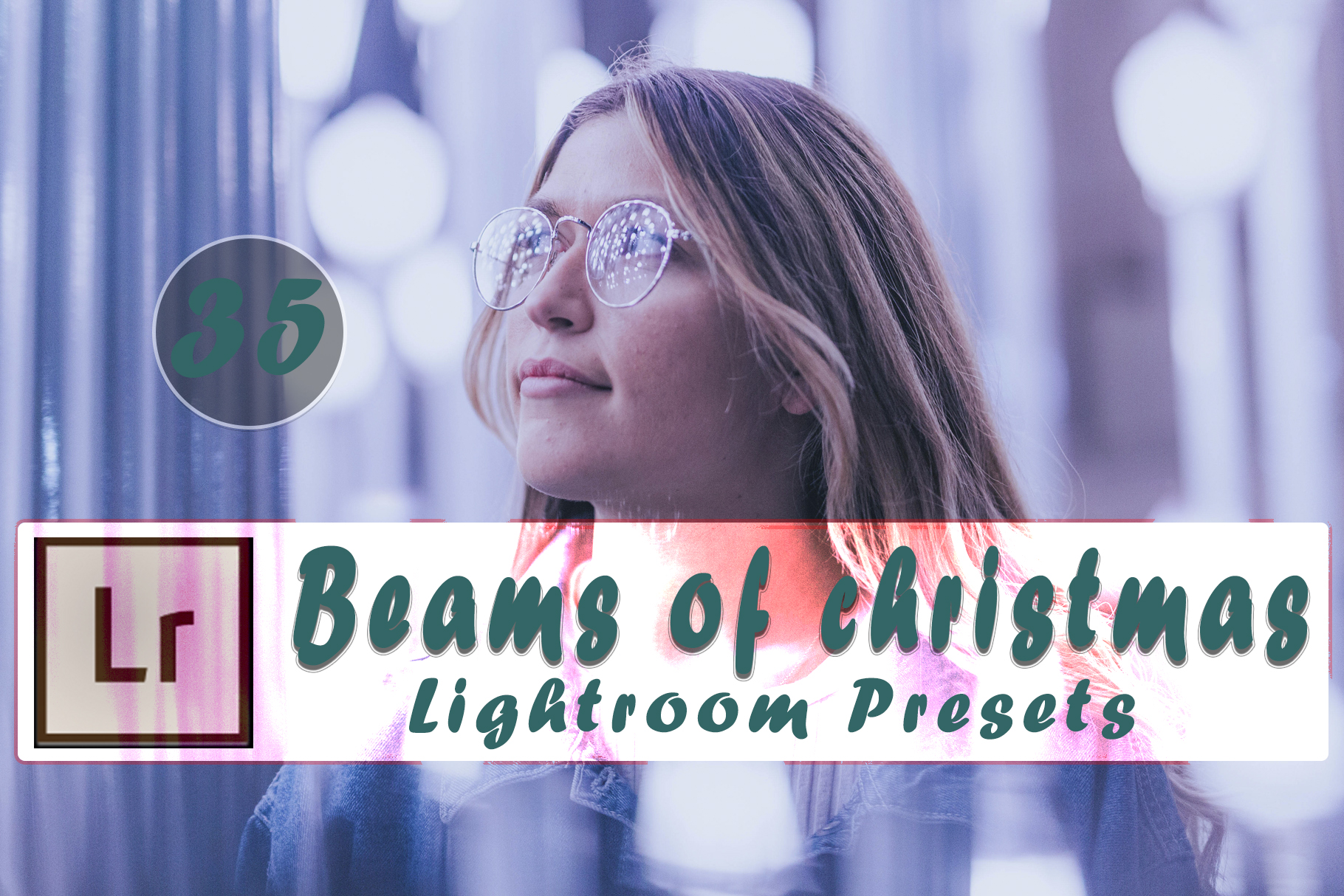 Beams of Christmas Lightroom Presets example image 12