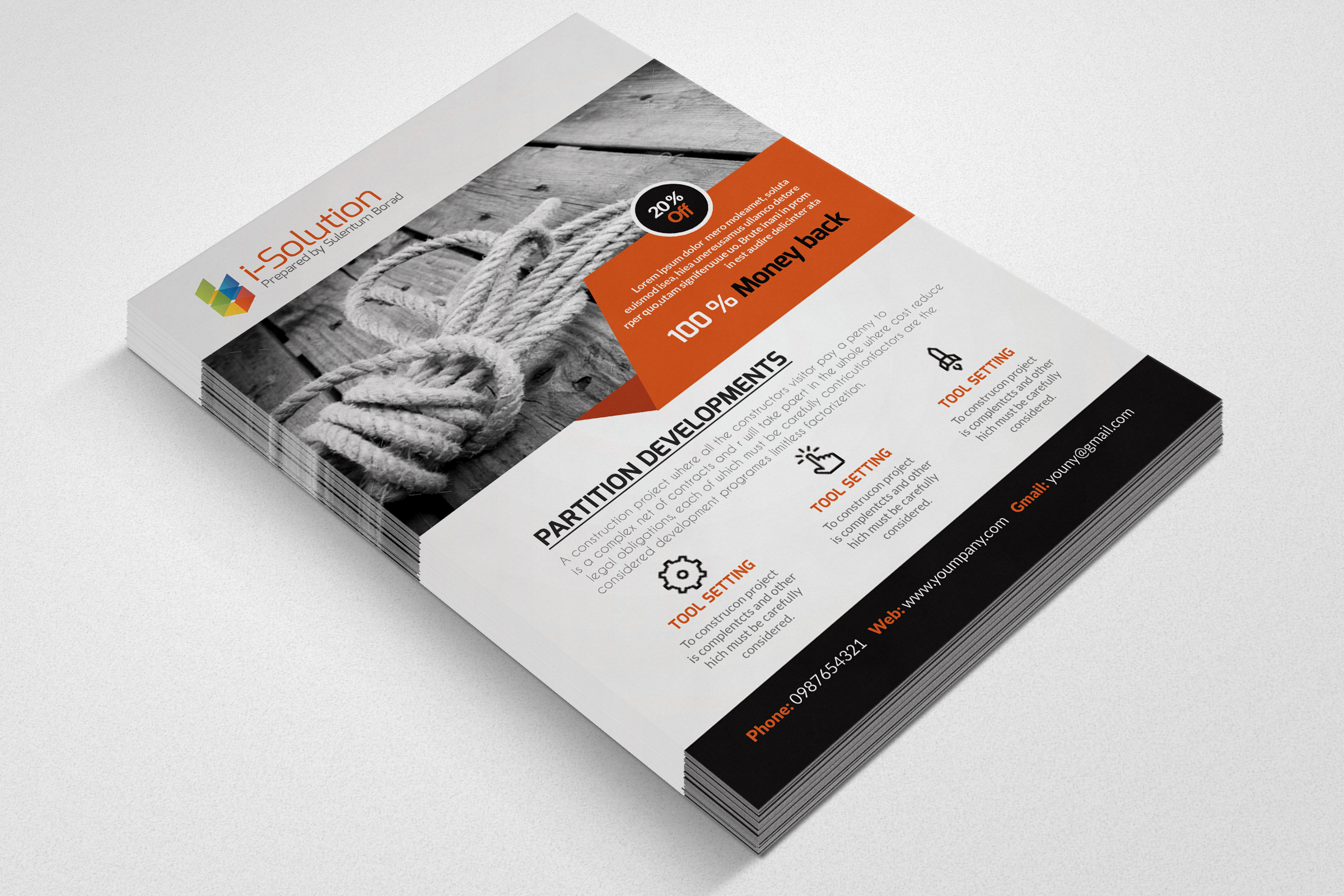 Multi Use Business Flyers example image 3