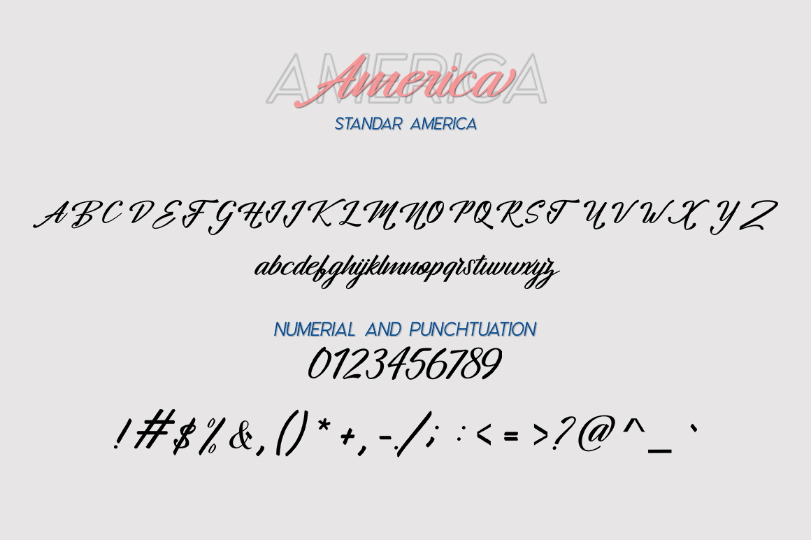 America Font Duo example image 7