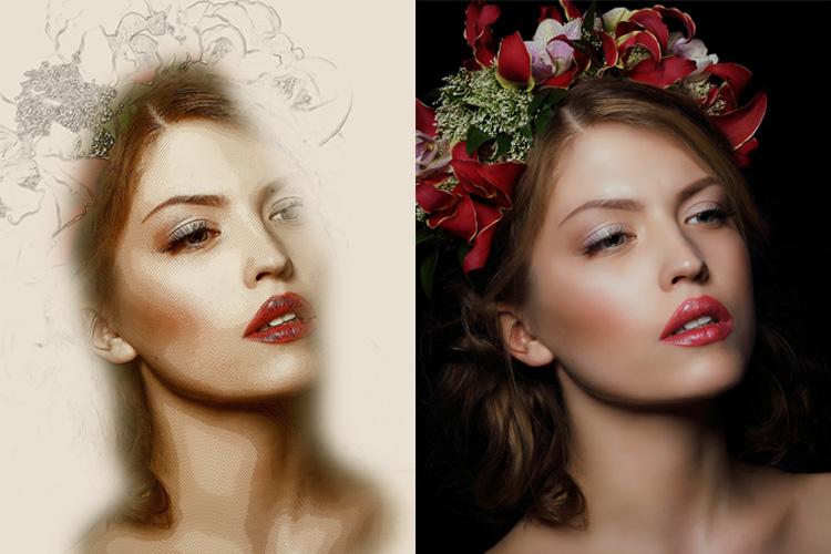 Mix Art Photoshop Action example image 9