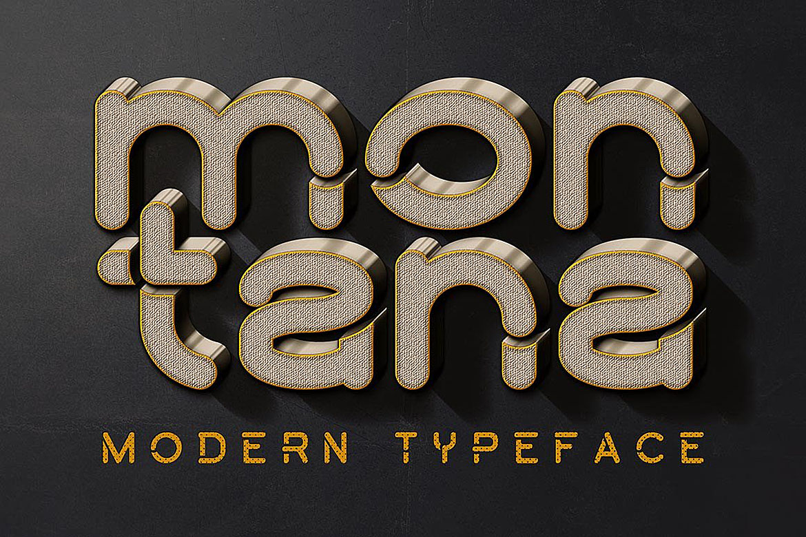 Montana Font example image 1