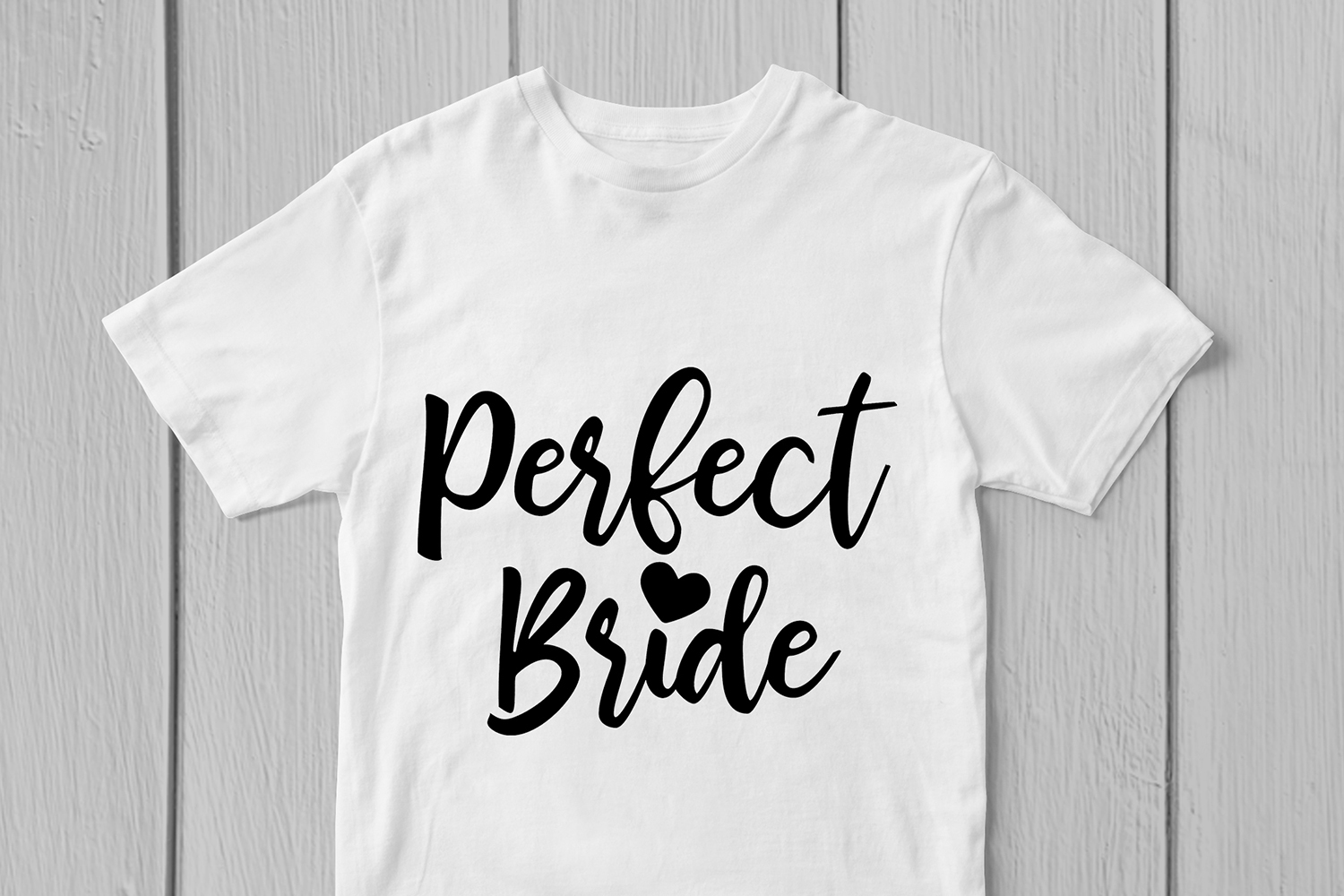 Perfect Bride - Wedding SVG EPS DXF PNG Cutting Files example image 2