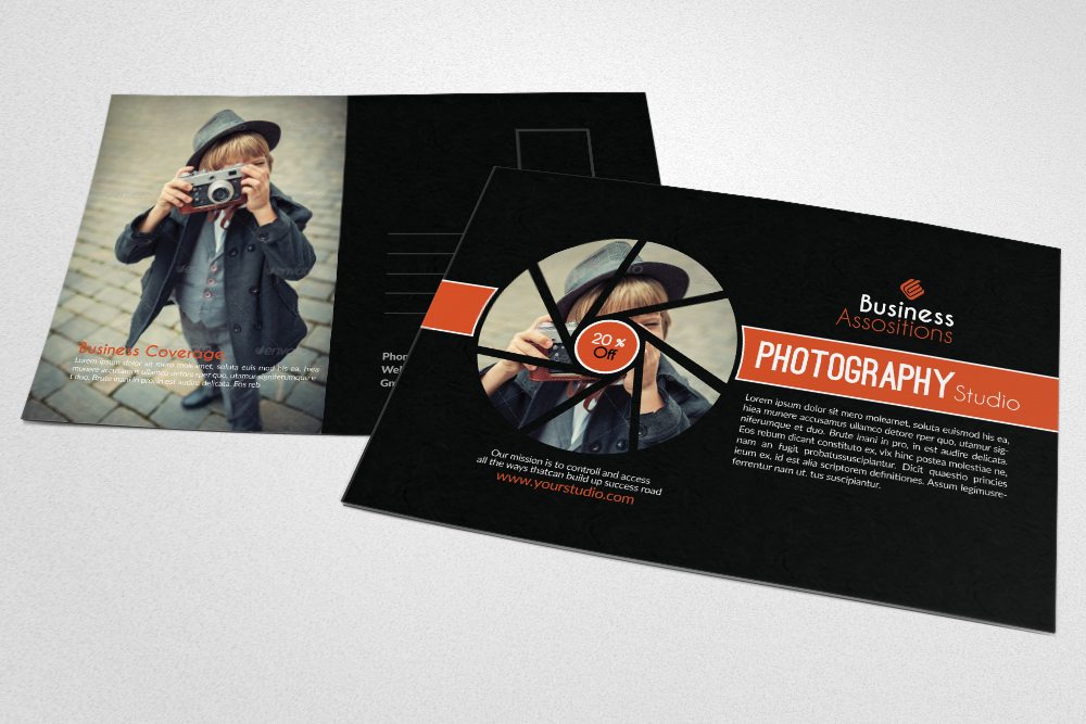 Photography Business Postcards example image 1