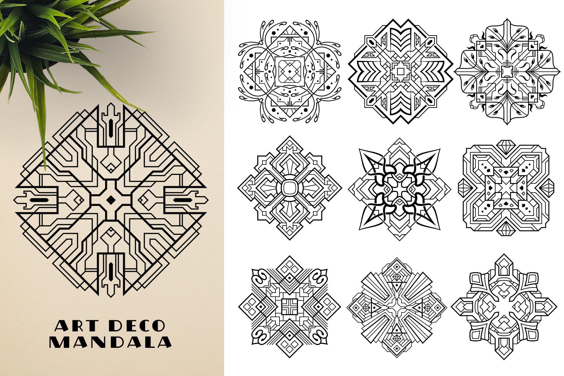 300 Vector Mandala Ornaments example image 16