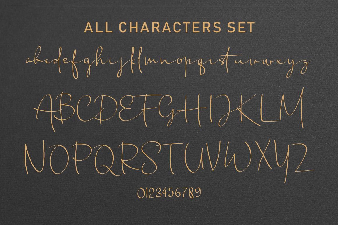 Chandrawinata Signature script example image 5
