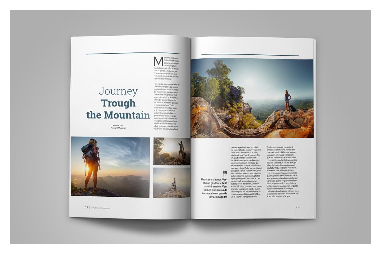 Multipurpose Magazine Template example image 9