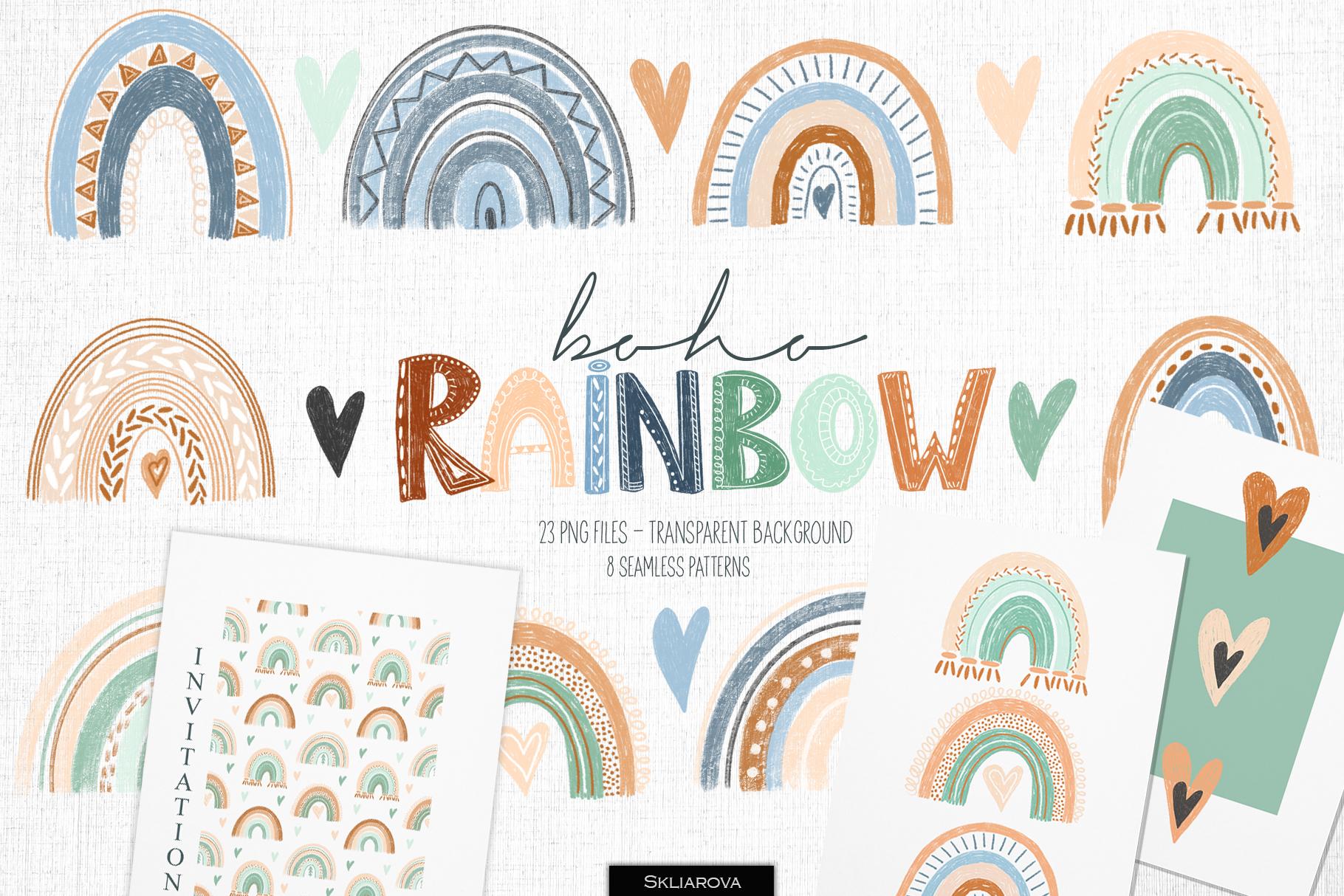 Boho rainbow example image 1