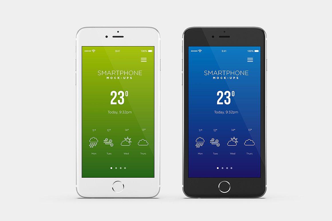 Smartphone Mock-Ups example image 3