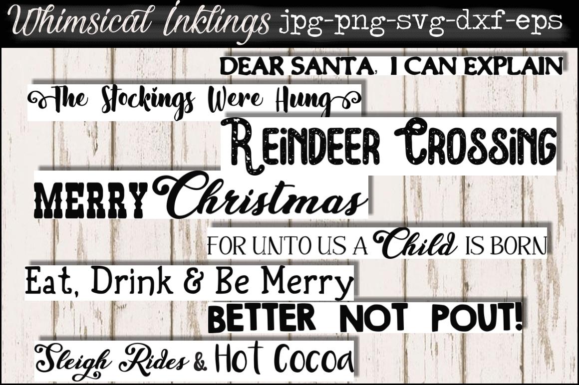 Christmas Cheer SVG Bundle SUPER SAVER example image 6
