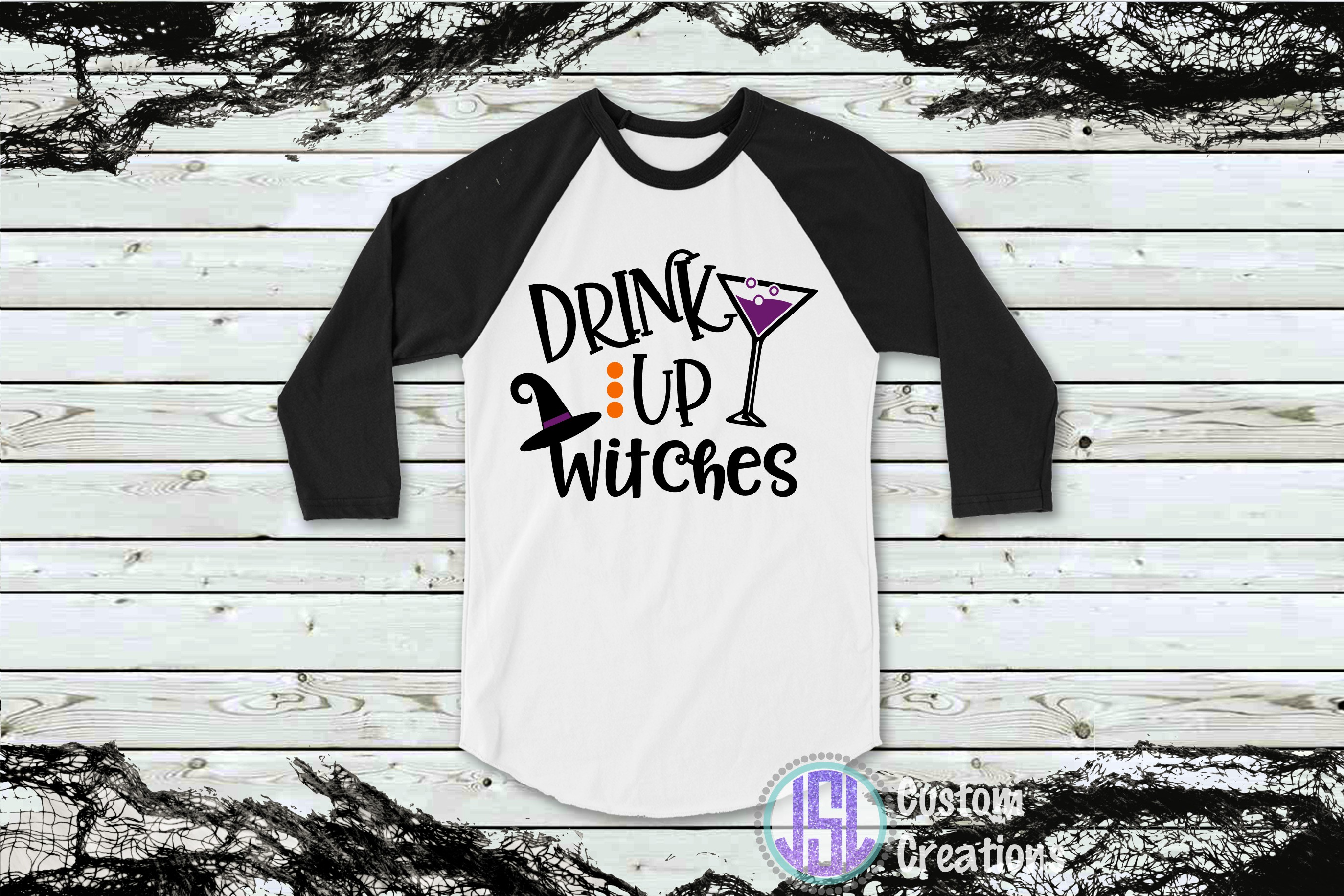 Drink Up Witches| SVG DXF EPS PNG Cut File example image 2