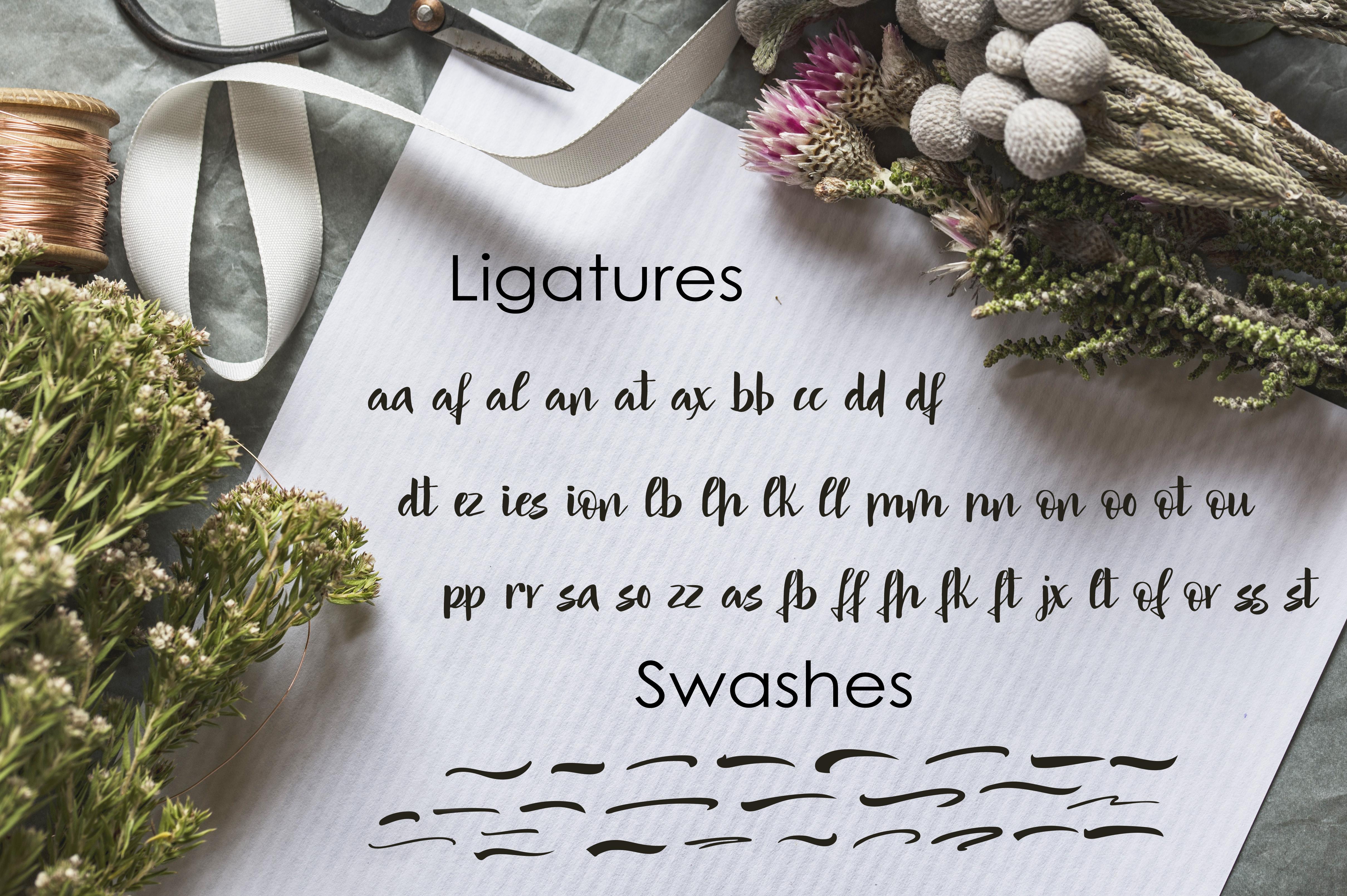 Mindfulness - handwritten font example image 7