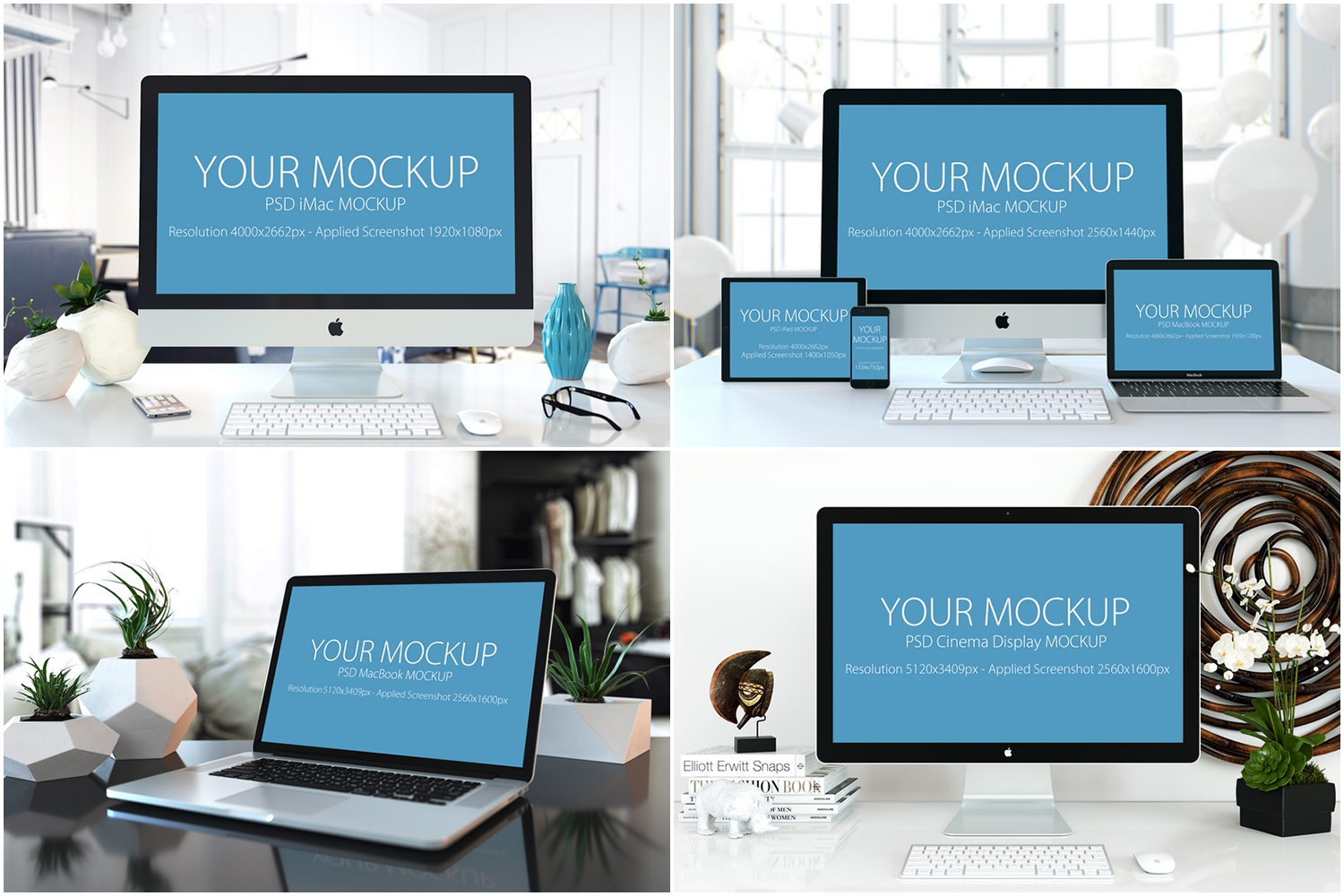 30 PSD Mock-ups Apple Devices example image 7