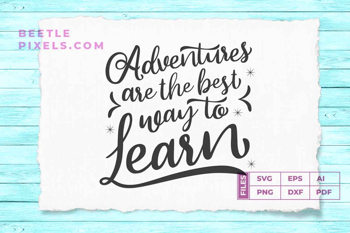 adventure are the best way to learn example image 1