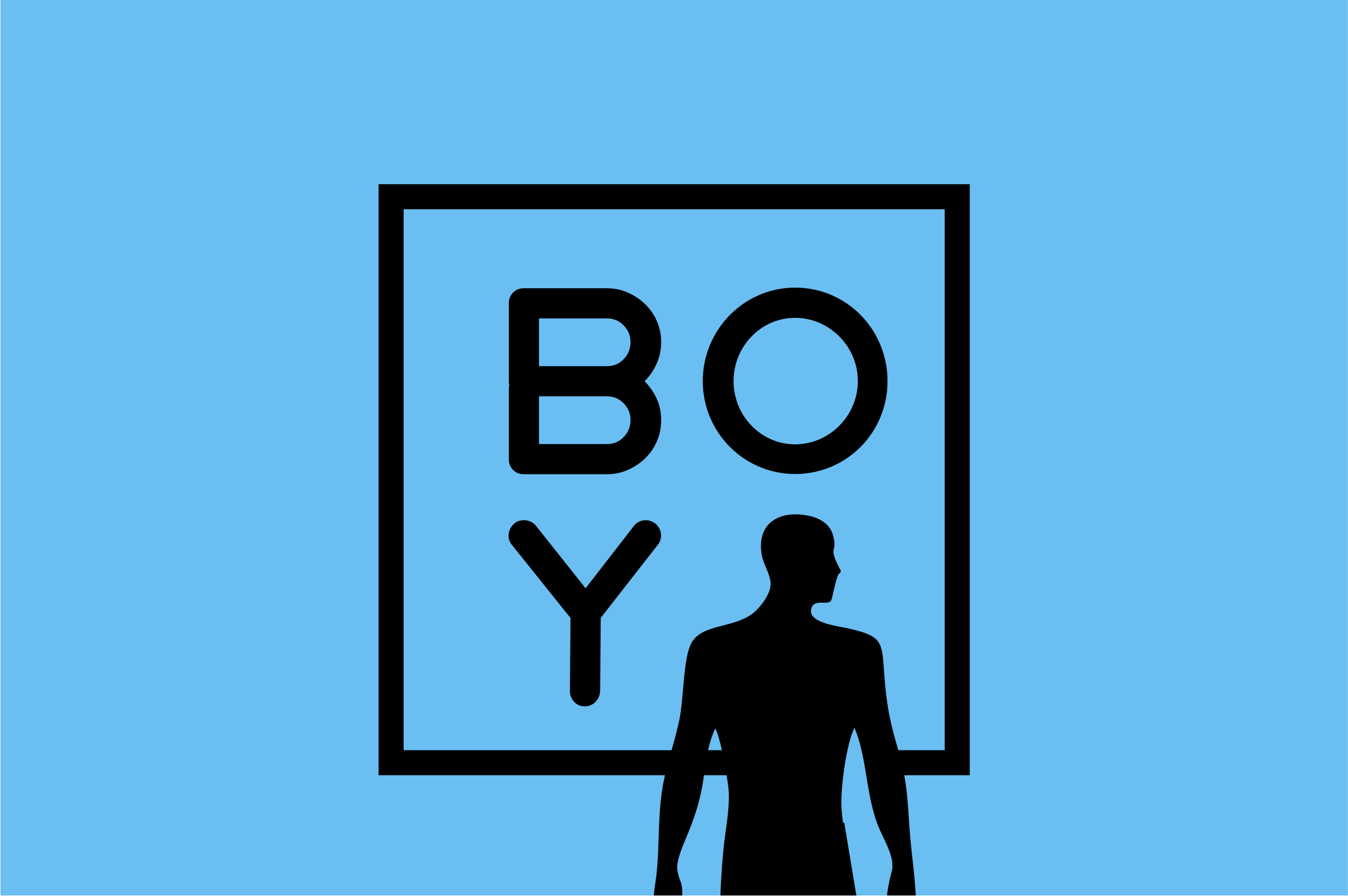 BOYA (rounded Font) example image 2