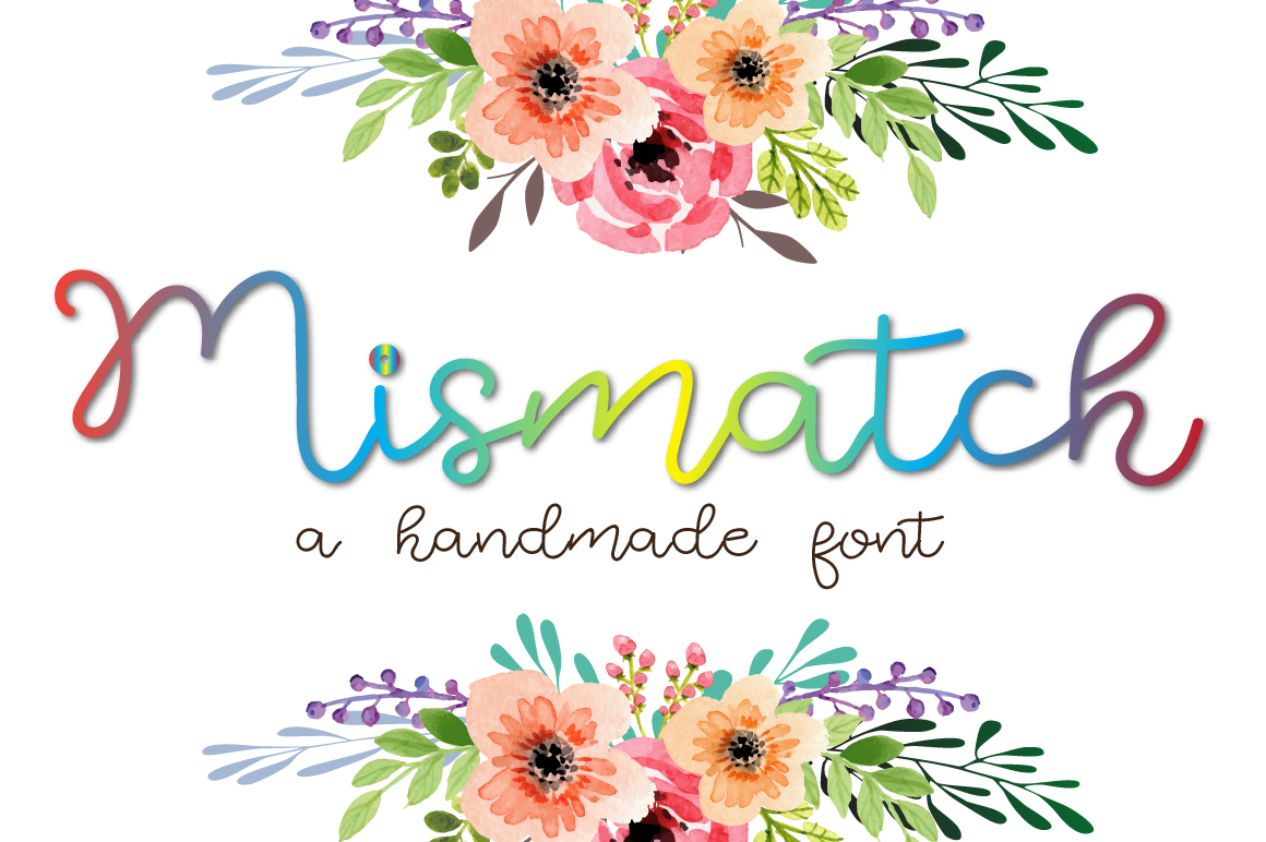 Mismatch - A handmade cool and elegant font example image 1