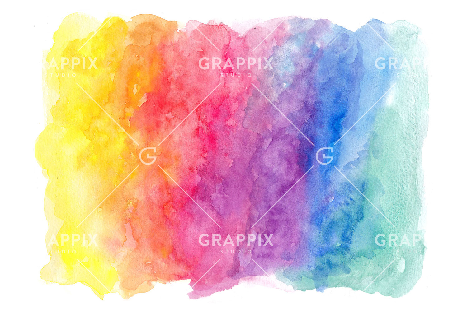 14 Abstract Colorful Watercolor Backgrounds example image 6