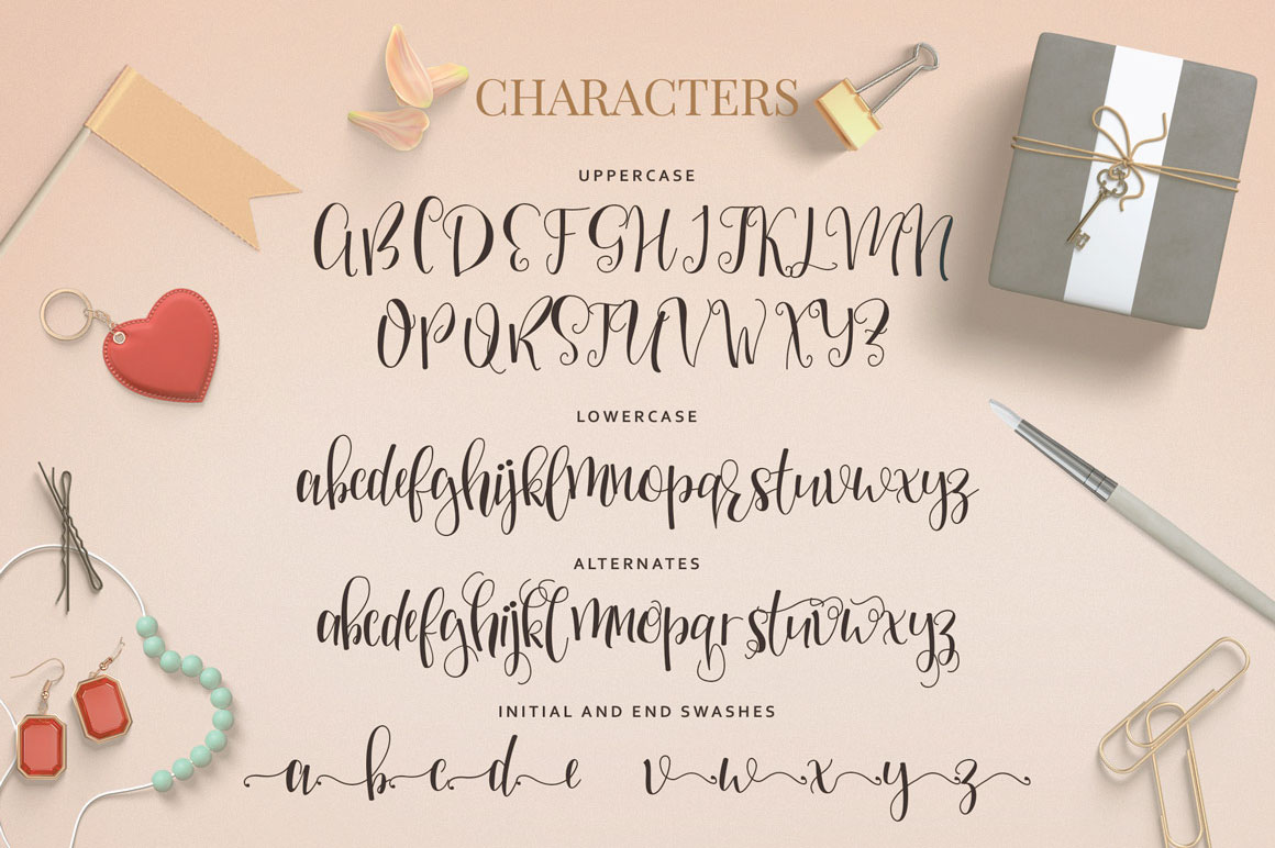Mellany Typeface example image 3