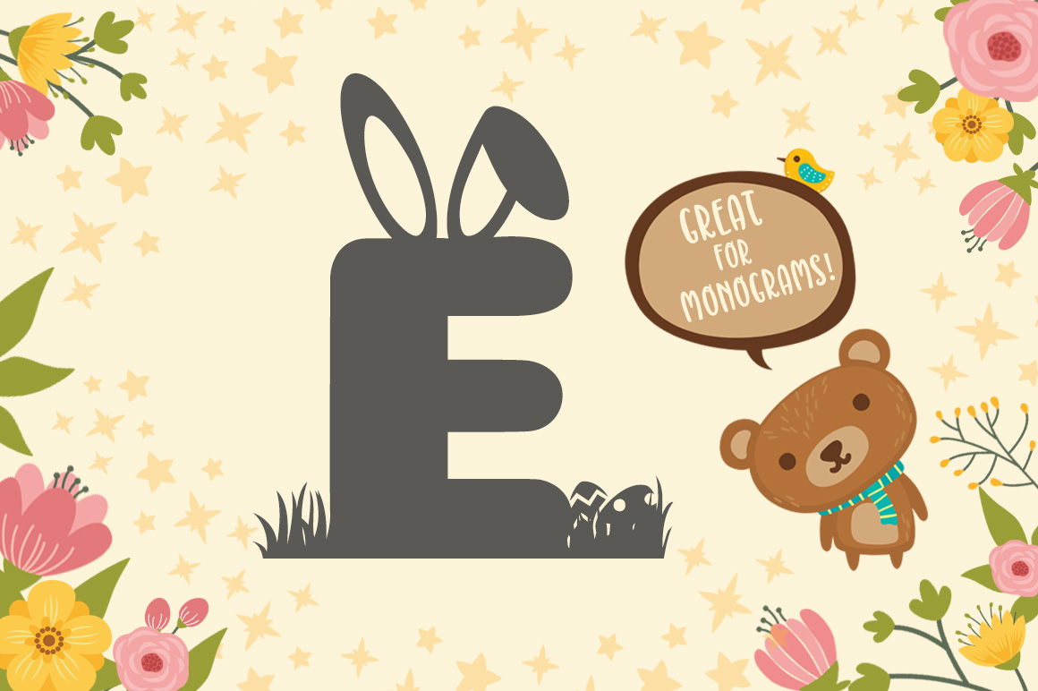 Easter Special Easter Egg Hunt Font example image 2
