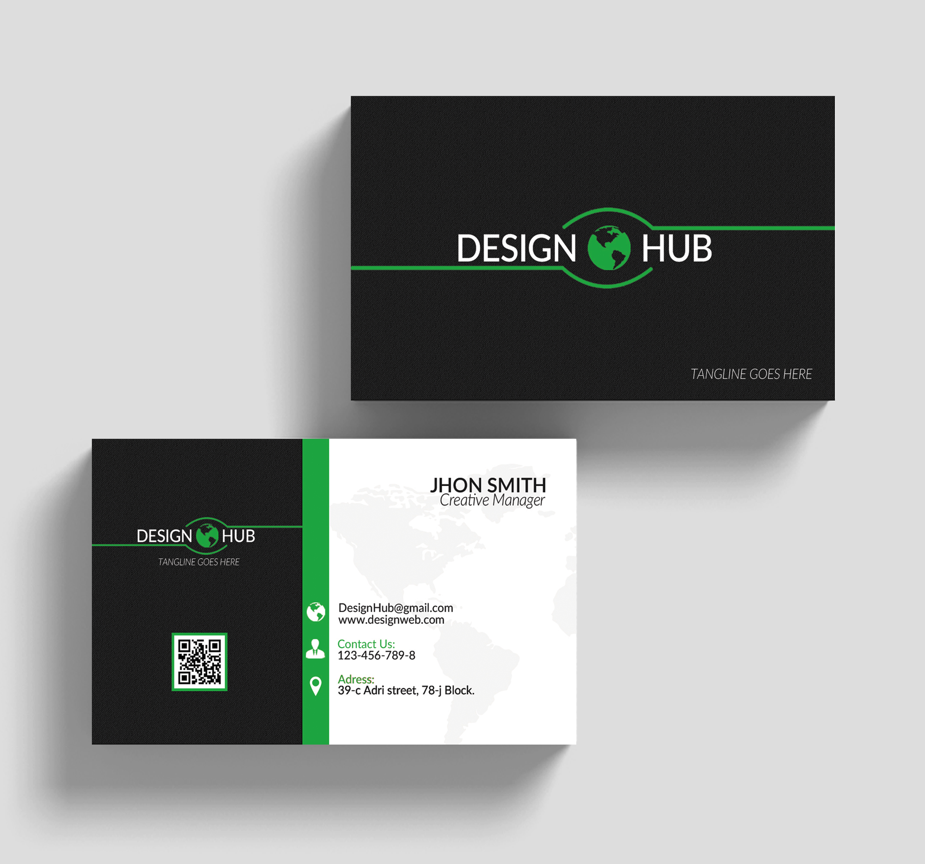 Creative Business Cards Design example image 3