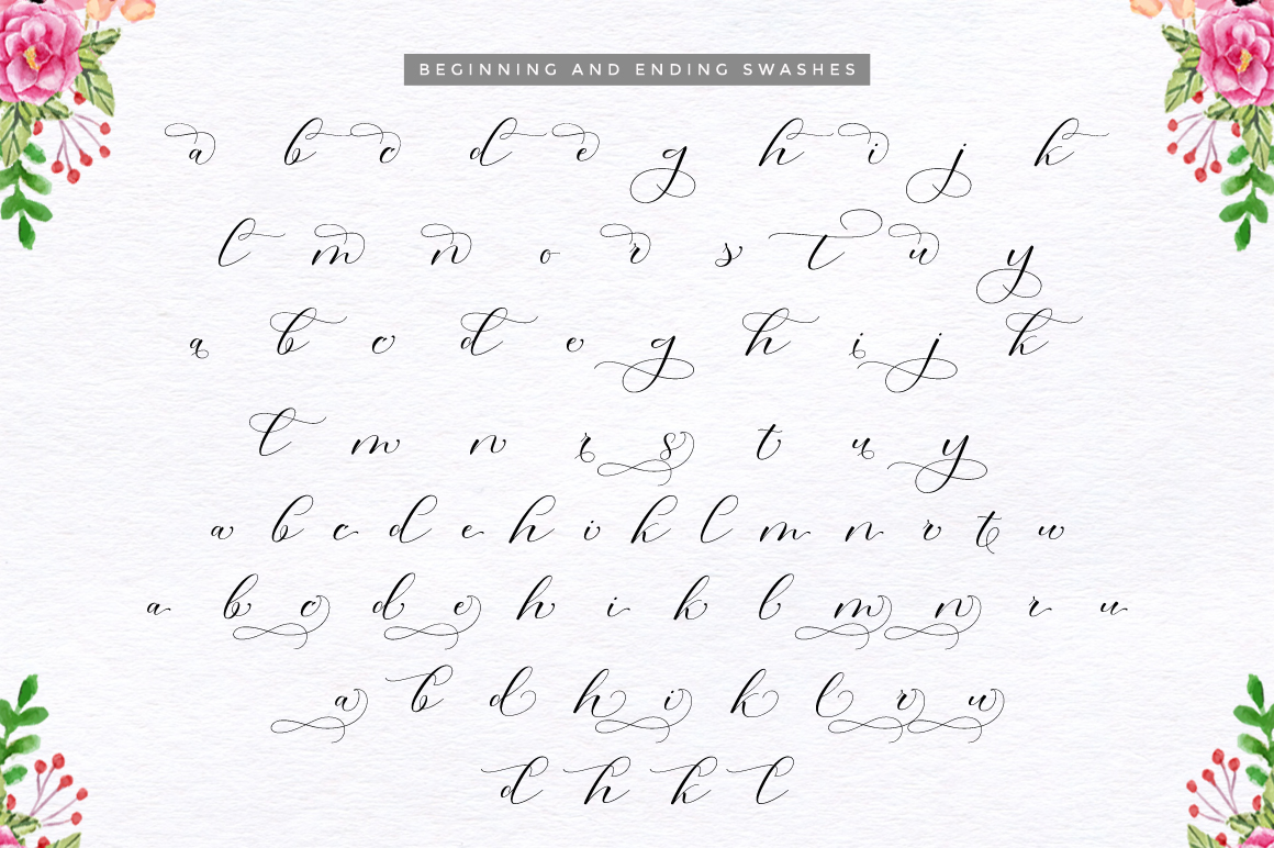 Morris Script | Font Duo example image 13