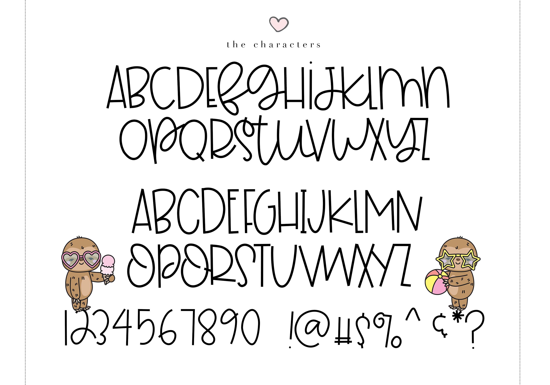 Floaties - A Cute Handwritten Font example image 13