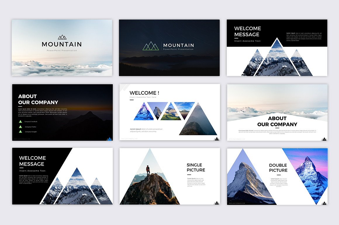 Mountain - Creative Presentation example image 4