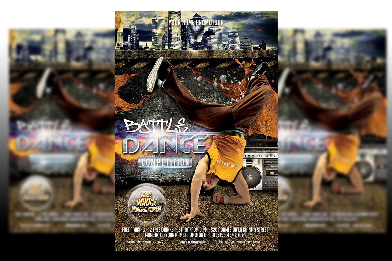 Dance Battle Flyer Template example image 1