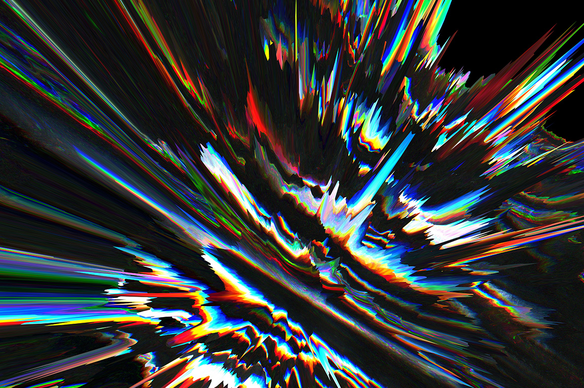 3D Glitch Backgrounds example image 3