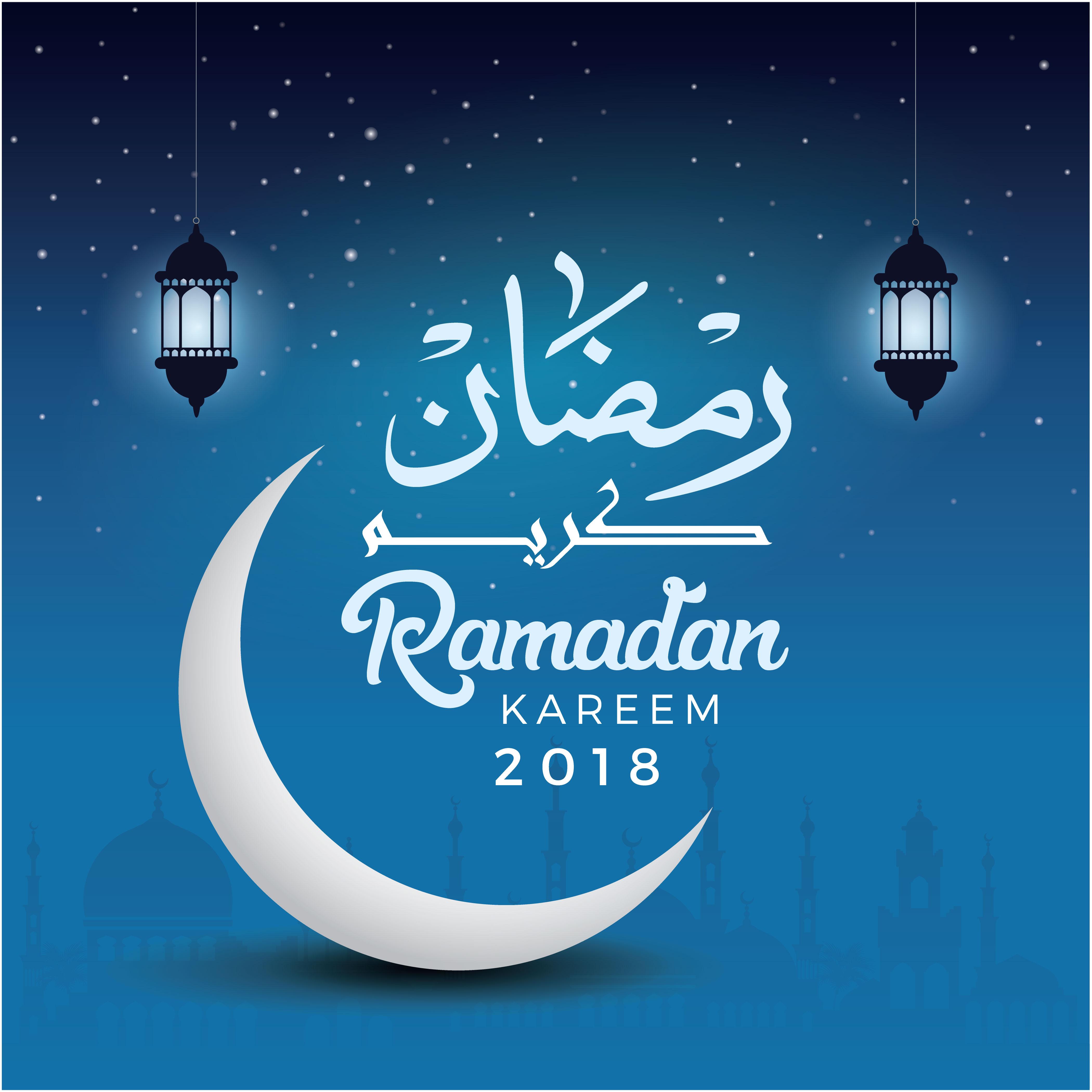 Ramadan Kareem Vector Posters example image 3
