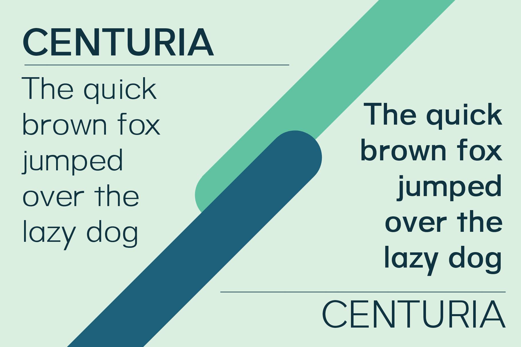 Centuria Typeface example image 5