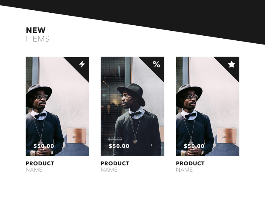 Fashion Edge PowerPoint Template example image 14