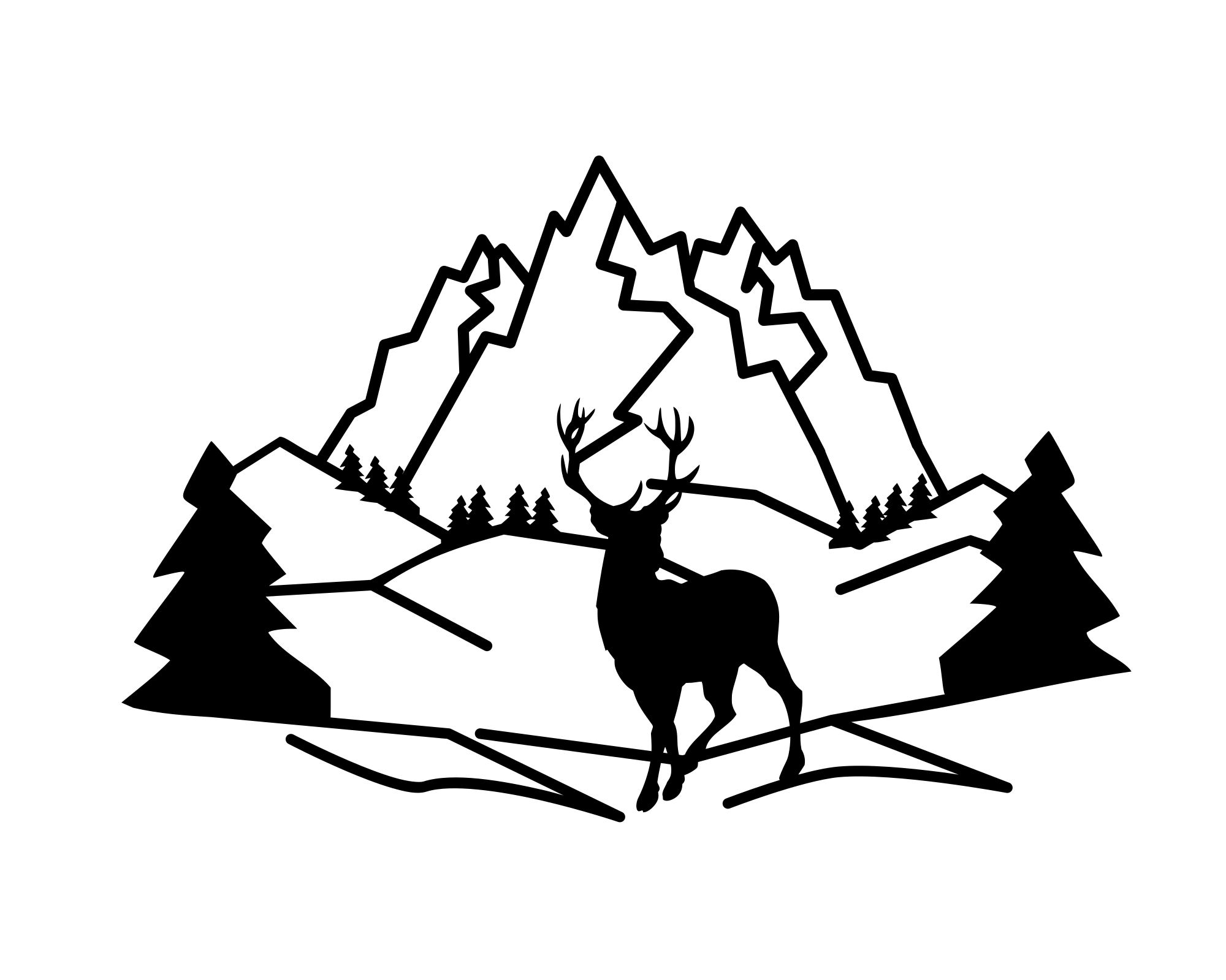 Mountain SVG example image 1