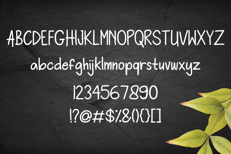 Wonderkid Font example image 3