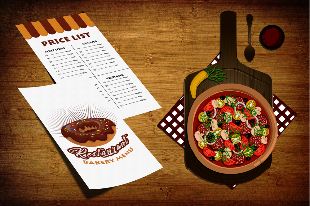 Restaurant Menu Template example image 1