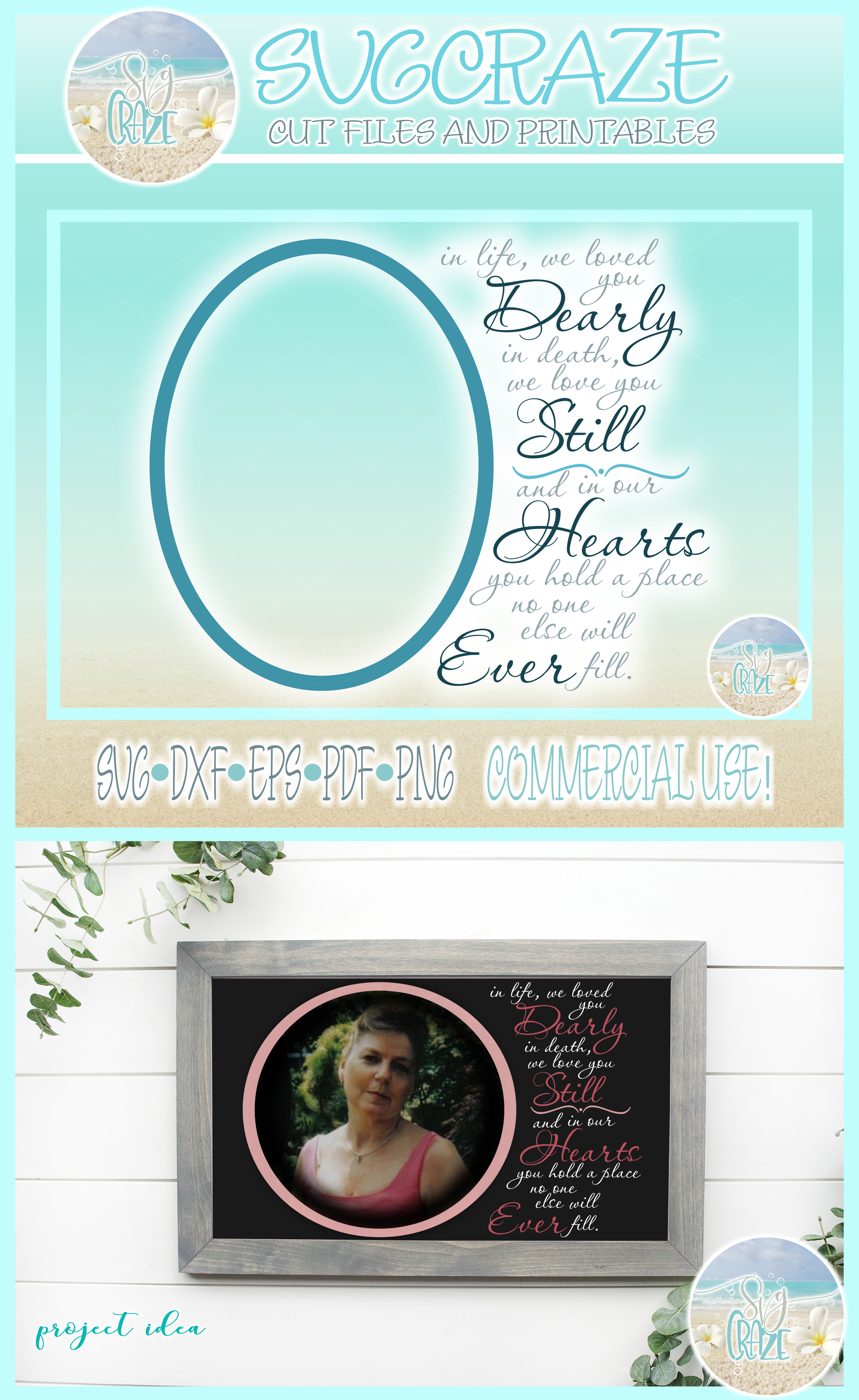 Memorial Quote Loved You Dearly Love You Still SVG example image 4