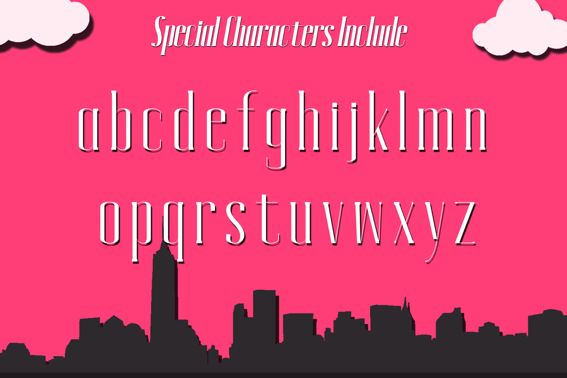 MANHATTAN A New York Typeface example image 2