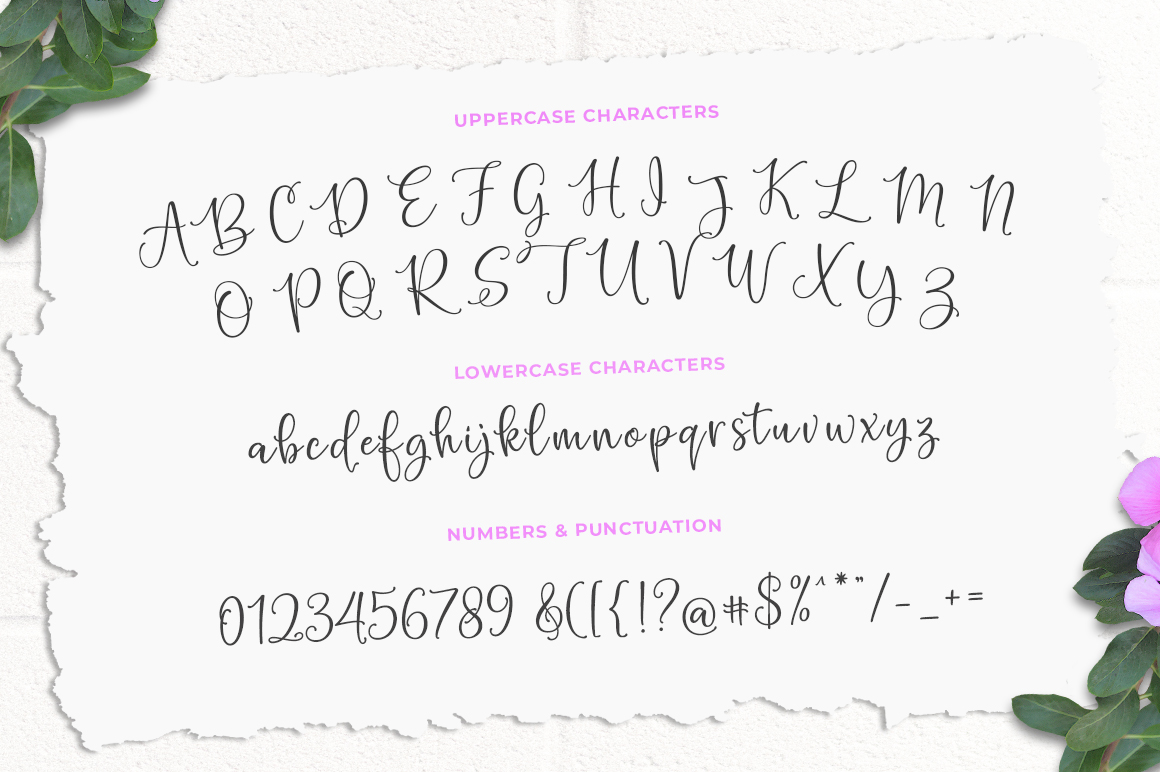 Hello Blushberry - Font Duo example image 9