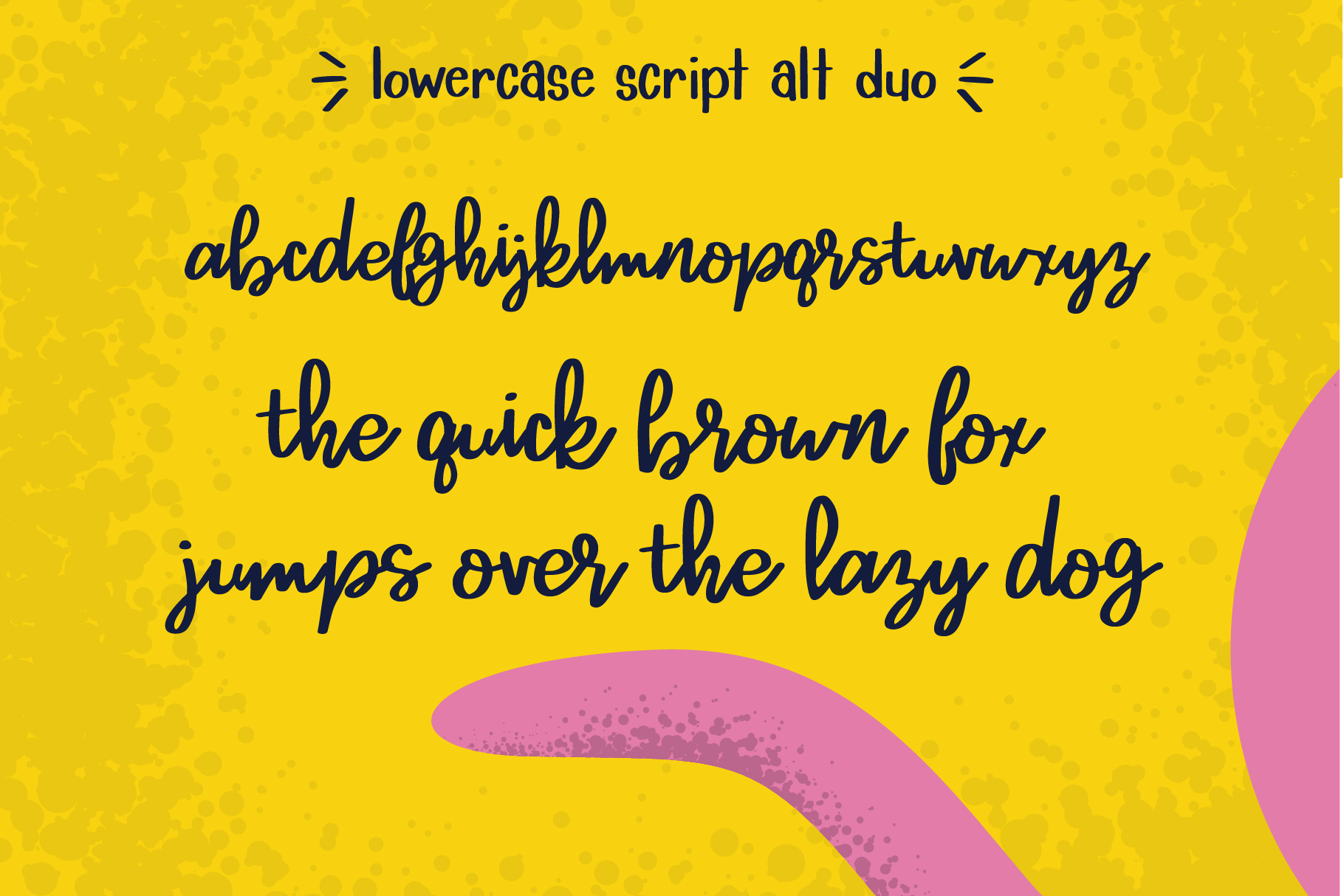 Lemon Lime Octopie Font Duo example image 9