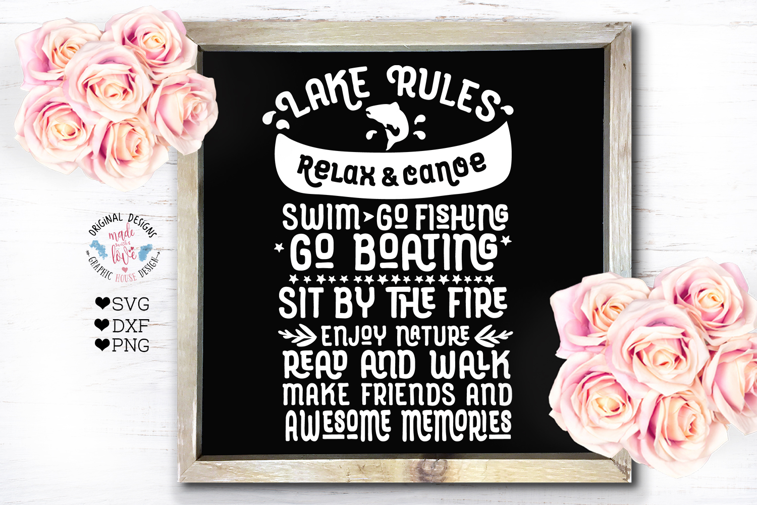 Home and Summer Decor Rules Cut File Bundle example image 7