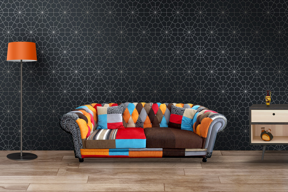 Lyxury seamless ornate patterns. example image 8
