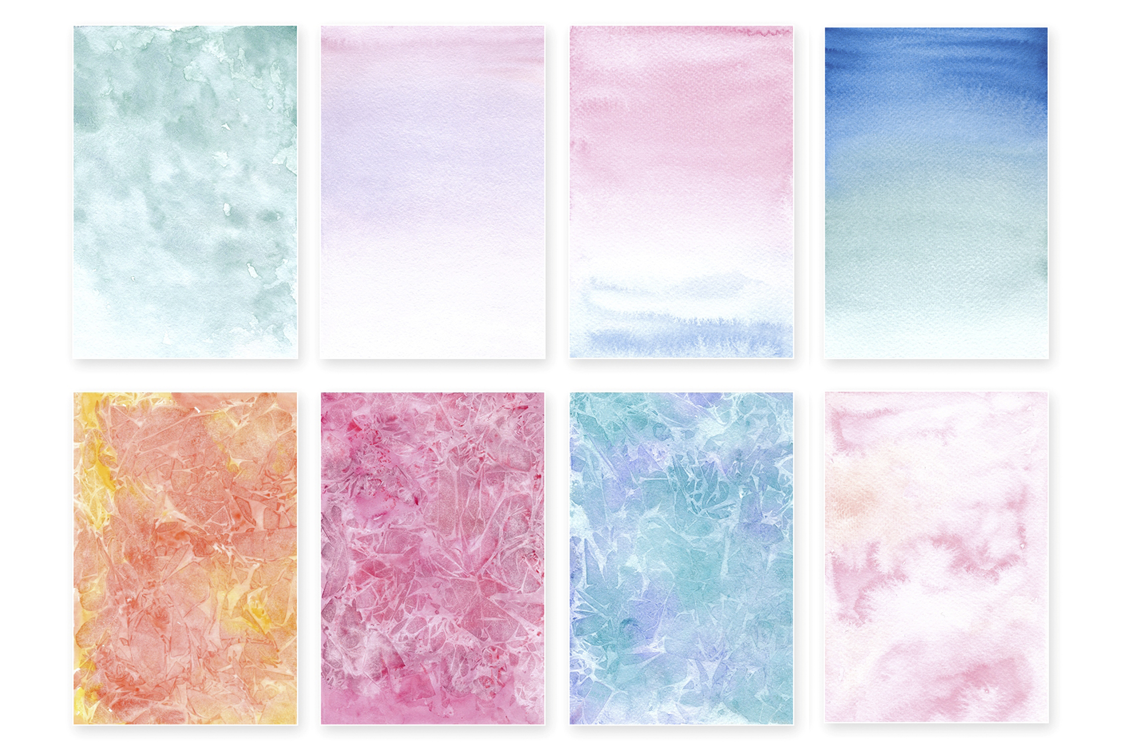 Watercolor Wonderful Papers example image 3